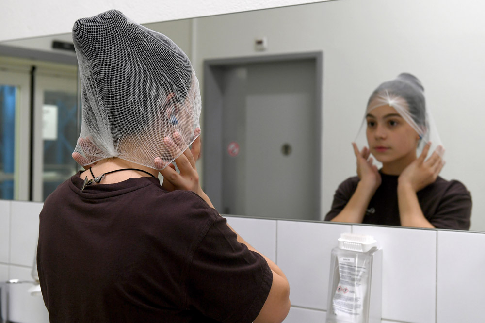 Hygiene und Sicherheit beachten