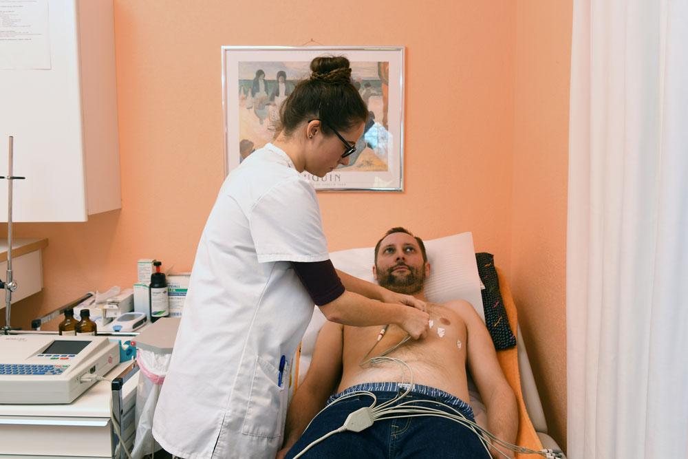 Untersuchungen am Patienten