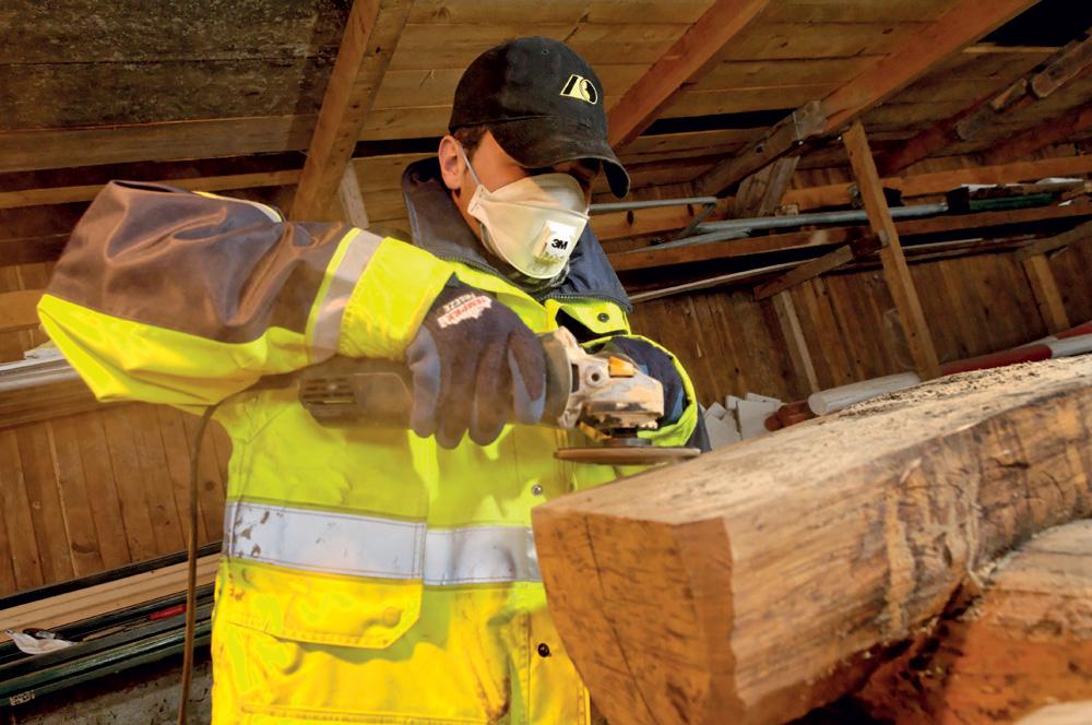 Arbeitssicherheit beachten
