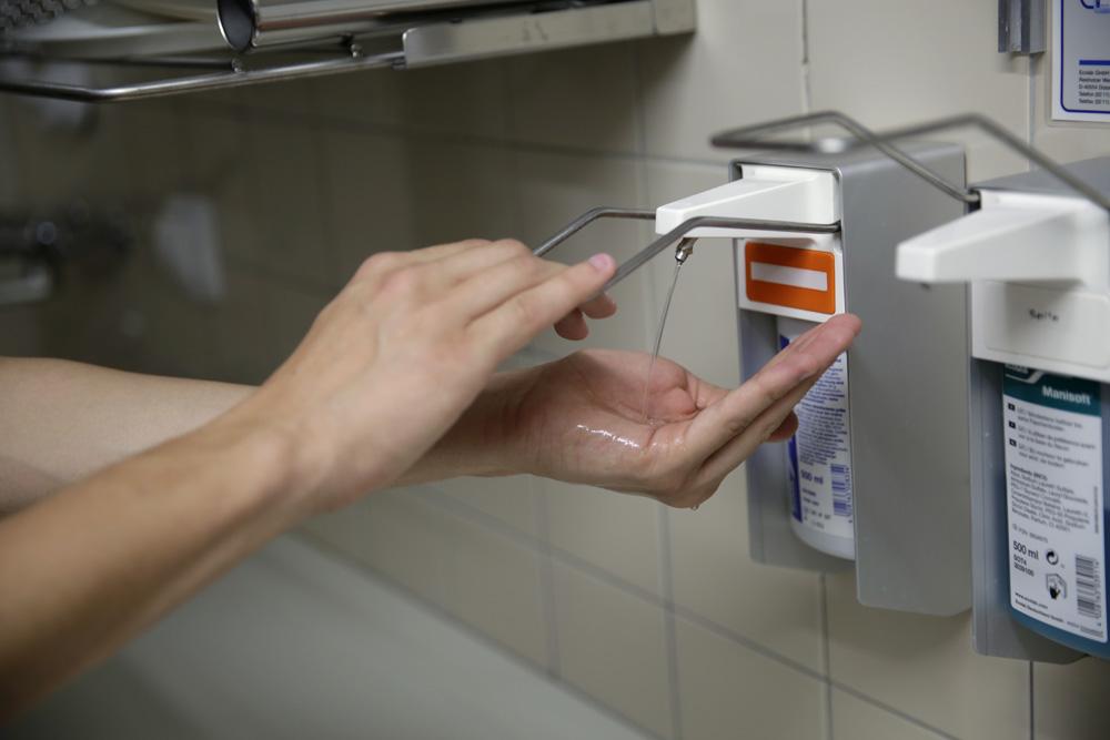 Hygiene und Sicherheit