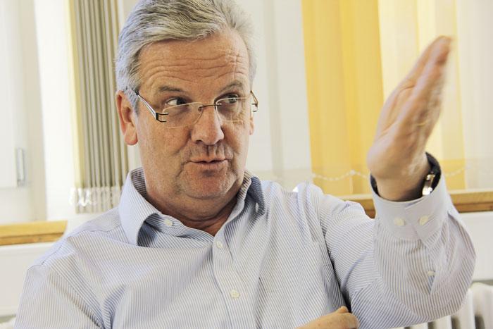 Marc Chassot, KBSB-Präsident: «In Ausbildung und Praxis der Beratung stehen psychologische und soziale Aspekte im Vordergrund. Es braucht aber auch umfassendes Wissen über die Arbeitswelt». (Bild: Ingrid Rollier)