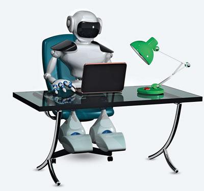 Intelligente, selbstlernende Maschinen bedrohen in den USA fast die Hälfte aller Jobs. (Bild: Fotolia/Brux)