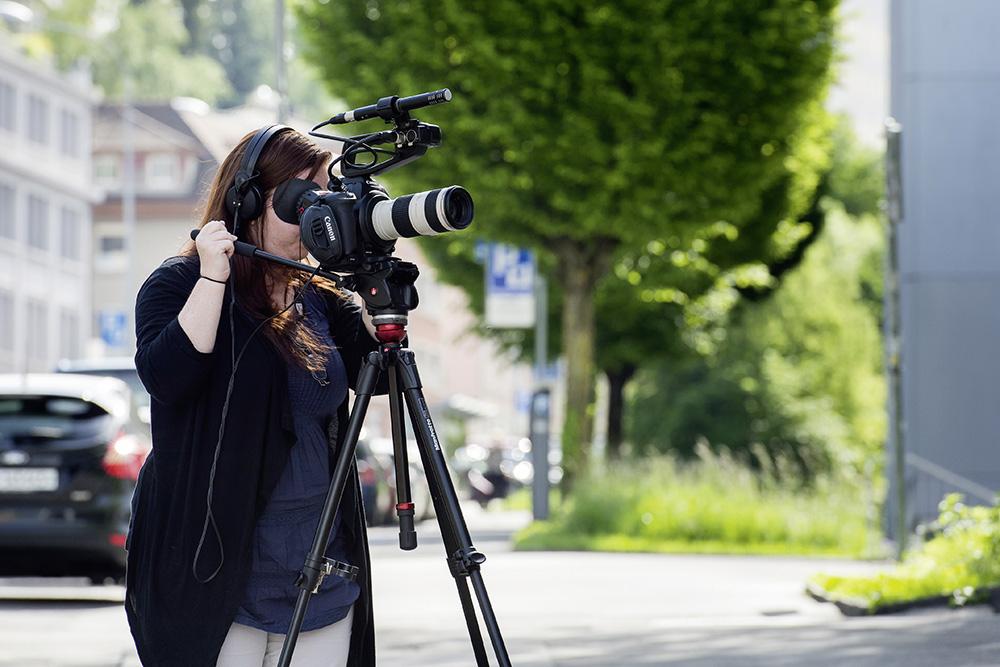 Erstellen von Audio- und Filmdateien