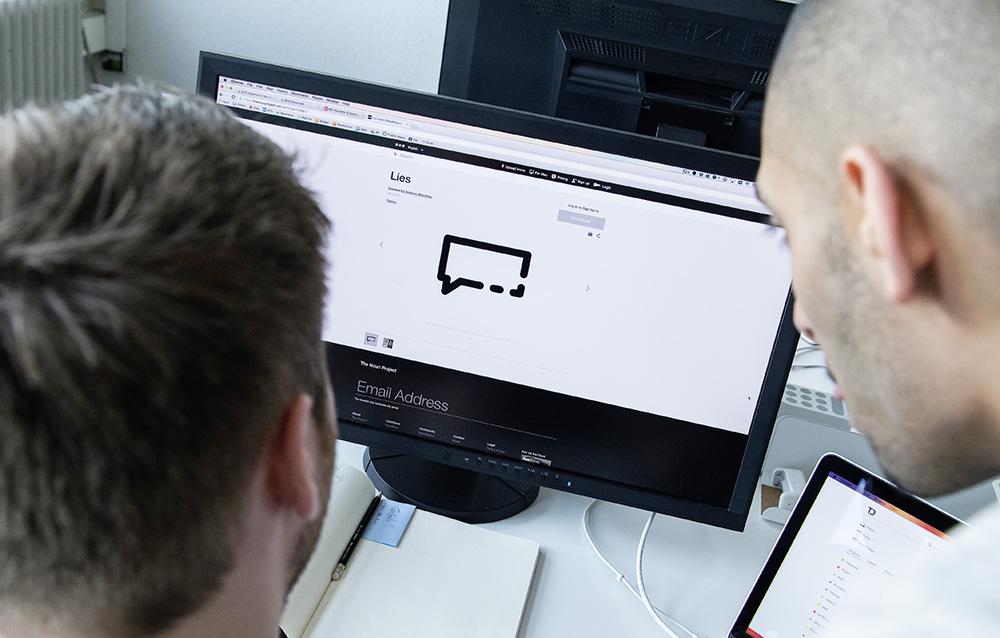 Installation und Schulung bei den Kunden