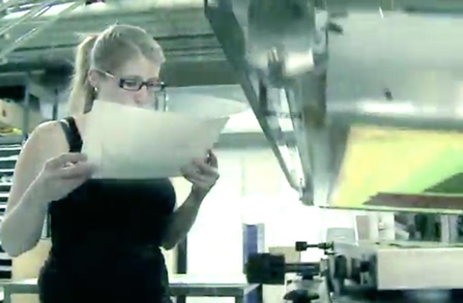 Berufe der Druck- und Kommunikationsbranche – Kurzfilm