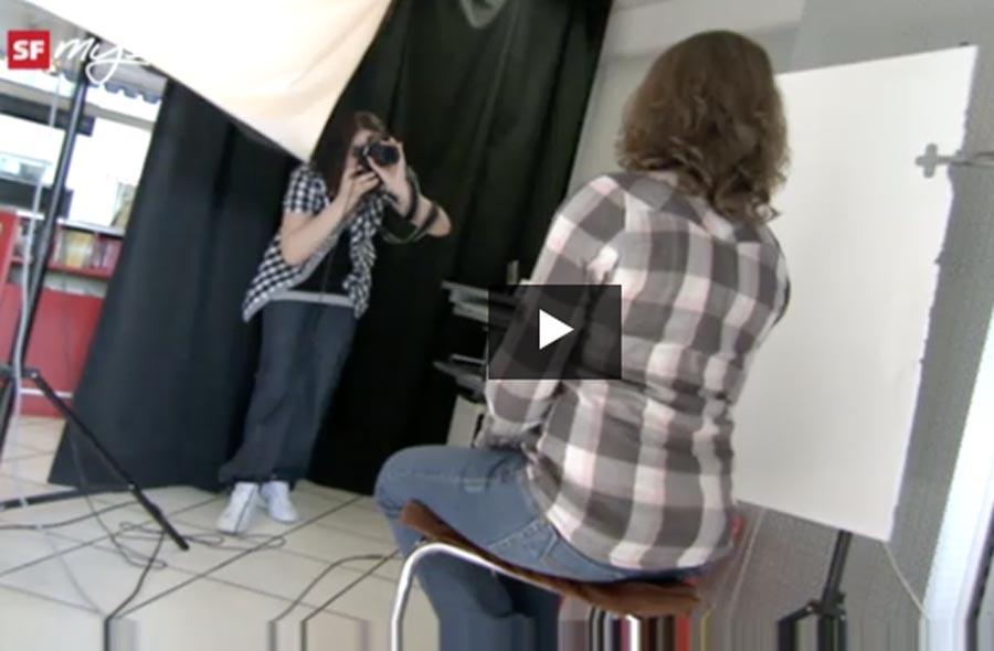 Fotofachmann/-frau EFZ – Film mit Porträt einer Lernenden