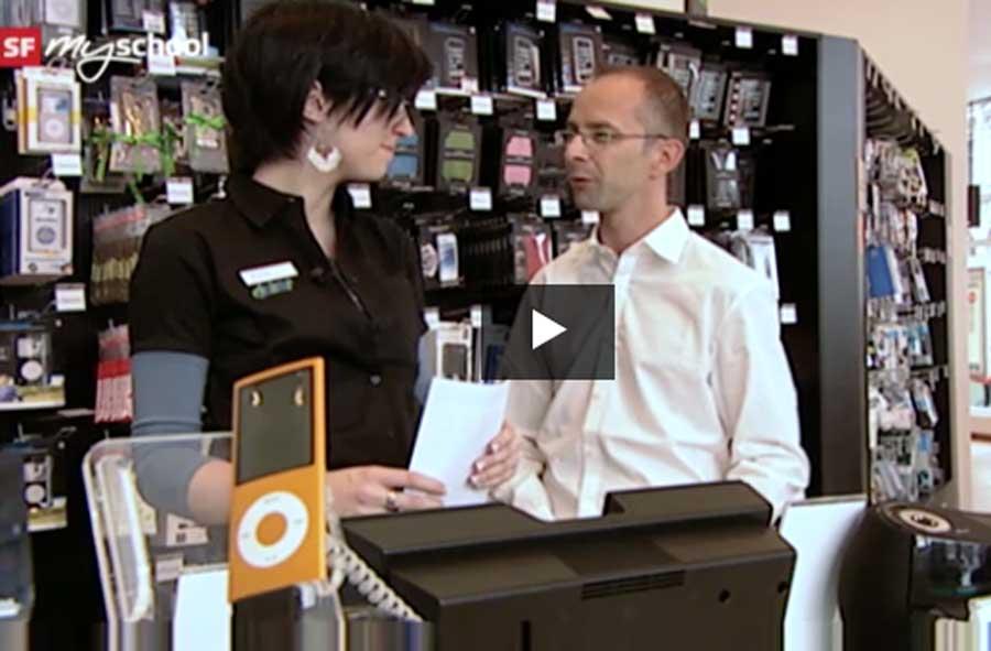 Detailhandelsfachmann/-frau EFZ Consumer-Electronics
