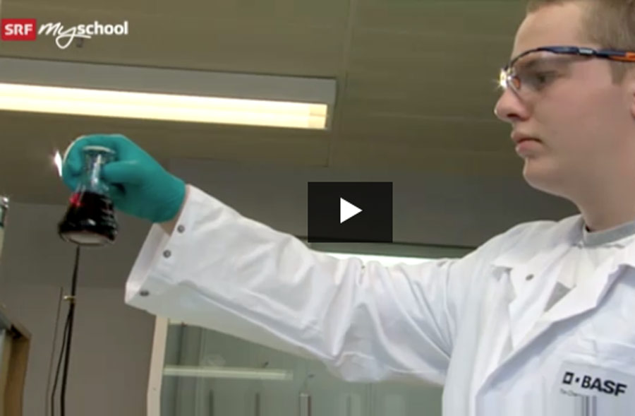 Laborant/in EFZ – Film mit Porträt eines Lernenden