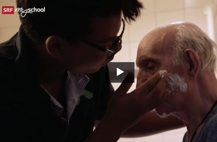 Fachmann/Fachfrau Gesundheit EFZ (FaGe) – Berufsfilm mit Porträt eines Lernenden