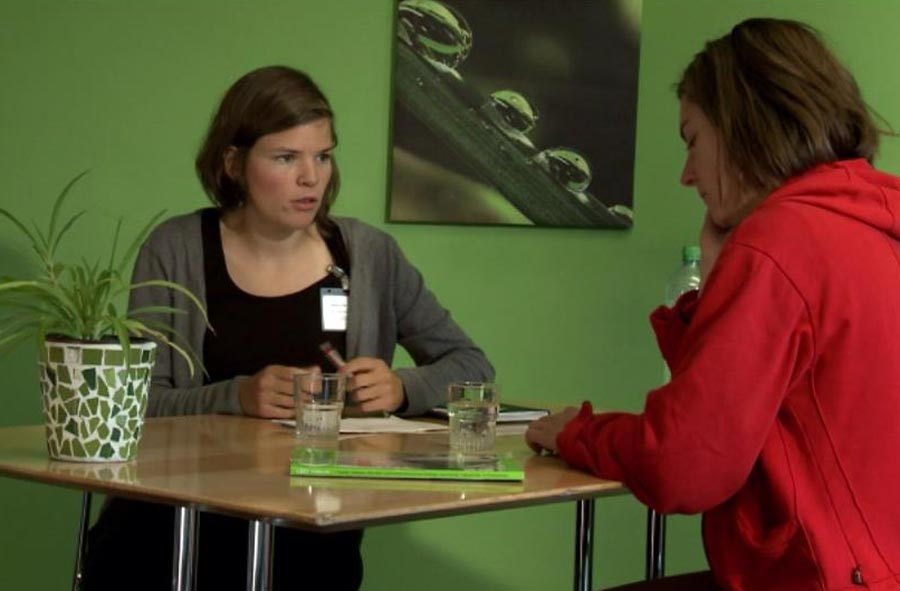 Pflegefachmann/-fachfrau HF Psychiatrie – Film mit Porträt einer Berufstätigen