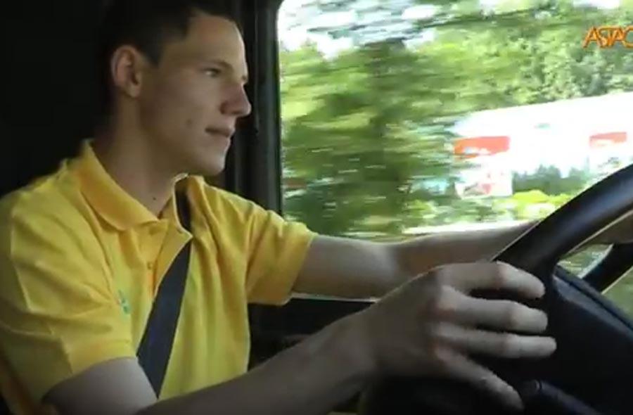 Strassentransportfachmann/-fachfrau EFZ – Film mit Porträts von Lernenden