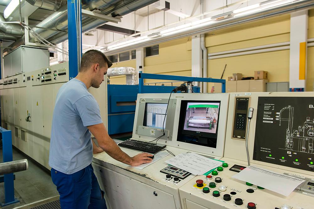 Produktion/Veredlung überwachen