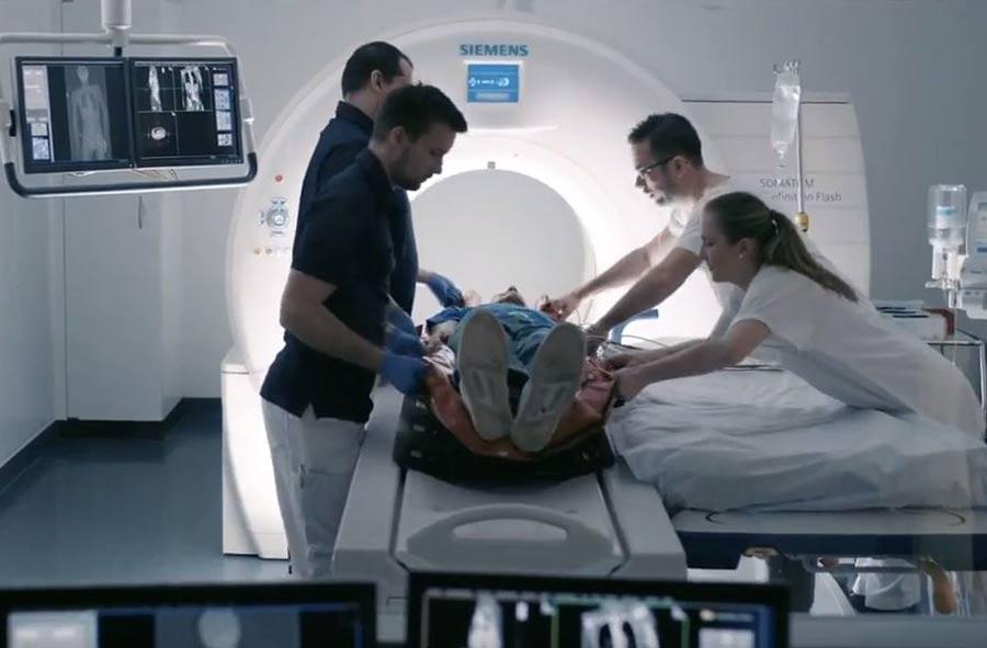 Fachmann/Fachfrau für medizinisch-technische Radiologie HF – Film mit Porträts von Berufstätigen