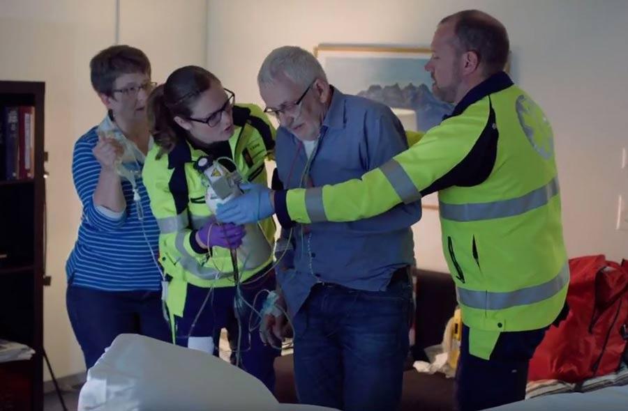 Rettungssanitäter/in HF – Film mit Porträts von Berufstätigen