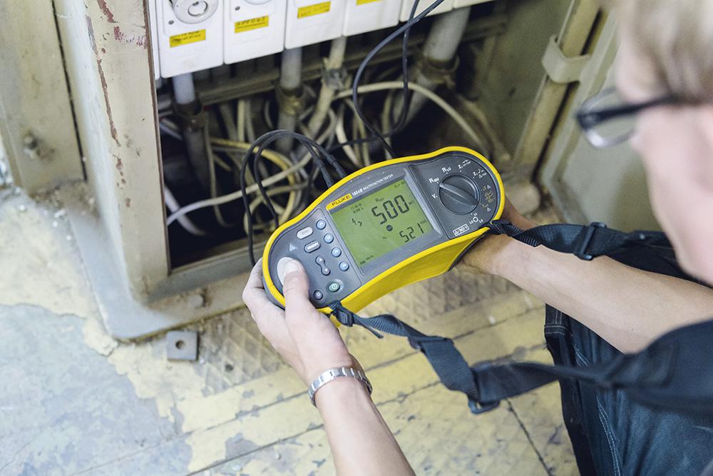 Anlagen testen und in Betrieb nehmen