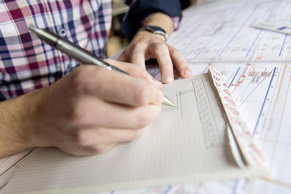 Ideen von Hand skizzieren
