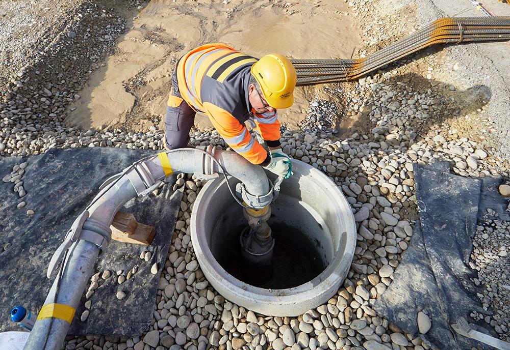 Wasser regulieren