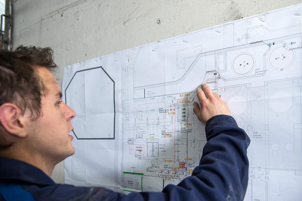 Pläne und Schemen interpretieren