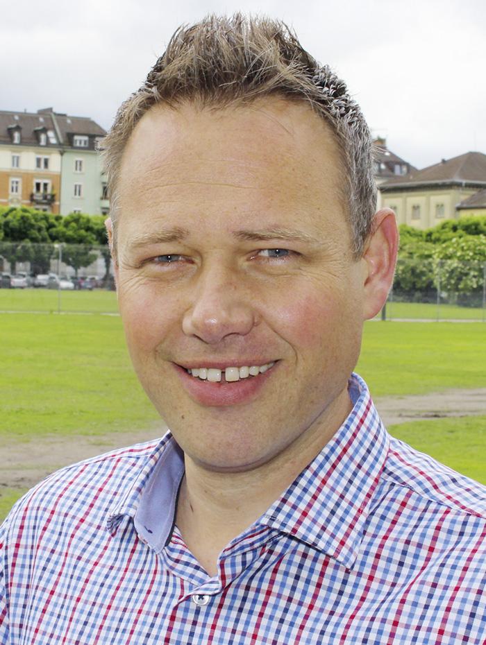 Beat Schlumpf (42), Co-Gründer von CV-Cube. (Bild: zvg)