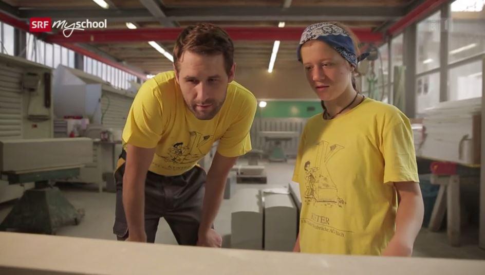Steinmetz/in EFZ – Film mit Porträt einer Lernenden
