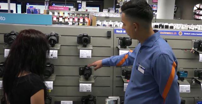 Detailhandelsfachmann/-fachfrau EFZ (Consumer-Electronics) – Film mit Porträt eines Berufstätigen