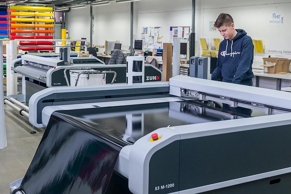 Digitaldrucker und Plotter
