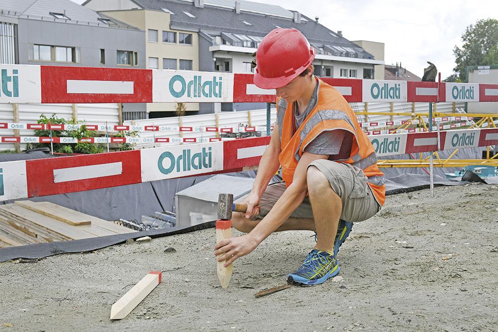 Baustellen signalisieren