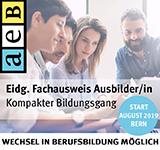 aeB Schweiz Akademie für Erwachsenenbildung Frau Nadja Latscha  Verantwortliche Marketing und Kommunikation Kasernenplatz 1 Postfach 7091 6000 Luzern 7