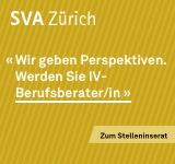 SVA des Kantons Zürich Frau Mirjam Clements-Frey  Röntgenstrasse 17 Postfach 8087 Zürich
