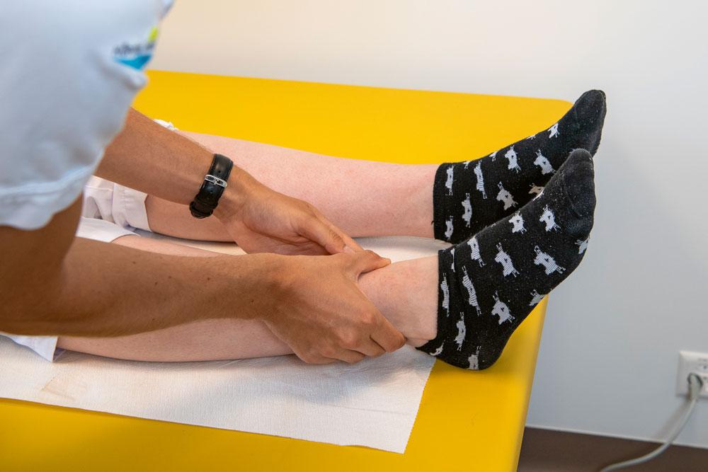 Intervention am Patientenbett
