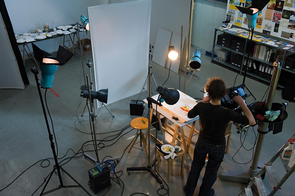 Stillfotografie im Studio