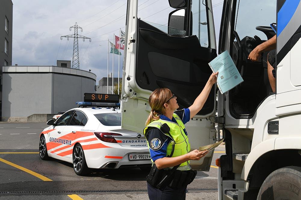 Kontrolle von Fahrzeugen