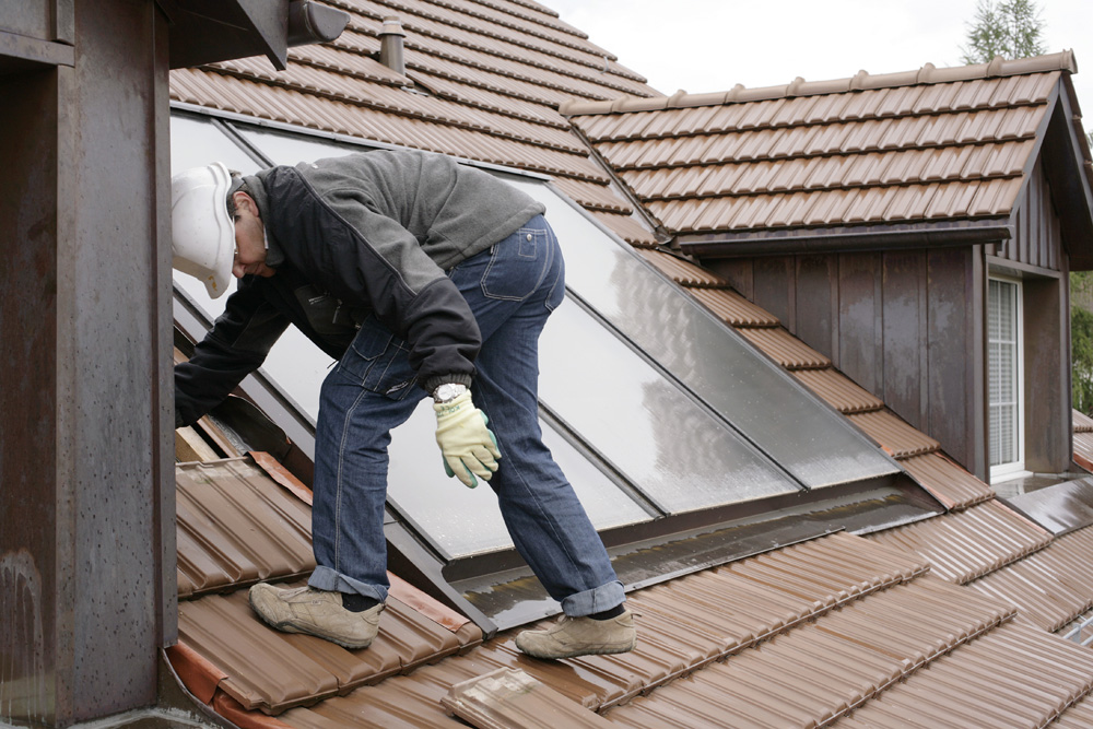 Solarzellen installieren
