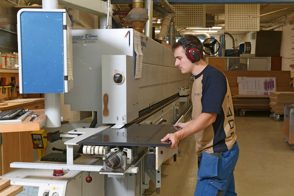Arbeit mit Handwerkzeugen