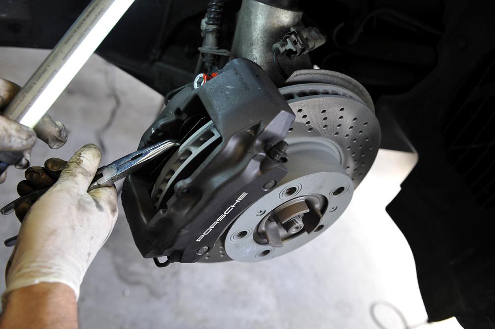 Bremsscheiben wechseln