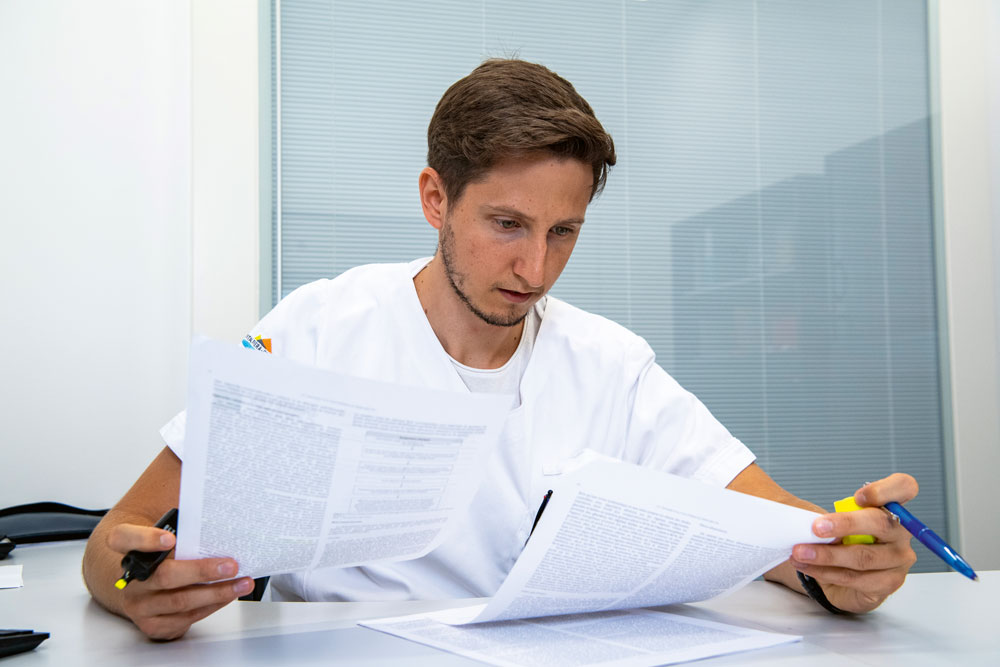 Administrative Arbeiten