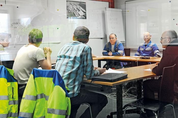 Dans l'industrie, les ateliers pendant le travail ont fait leurs preuves comme outil de formation.