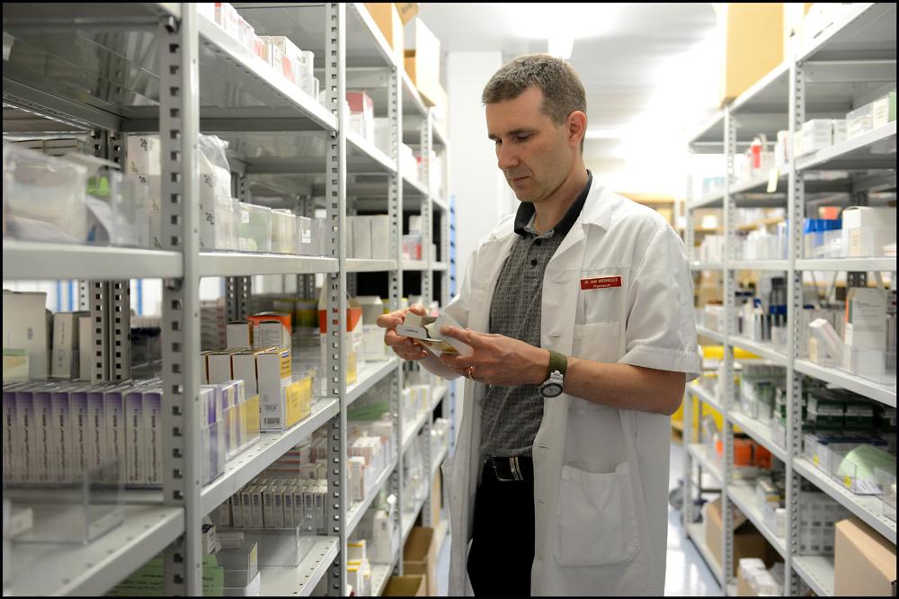 Gérer le stock de médicaments