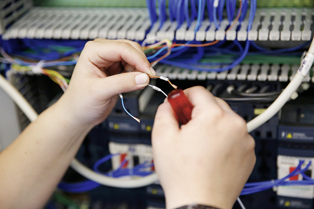 Montage et câblage