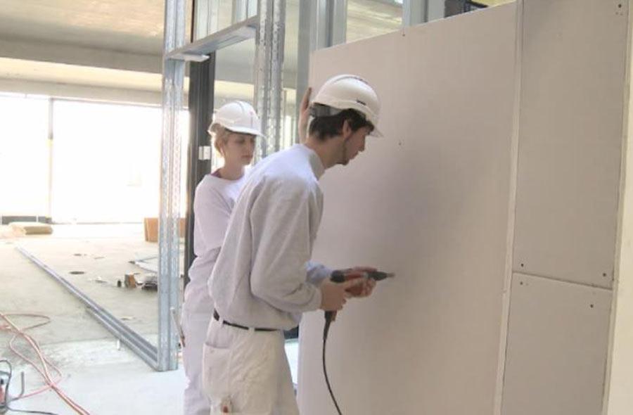 Plâtrier constructeur / Plâtrière constructrice à sec CFC