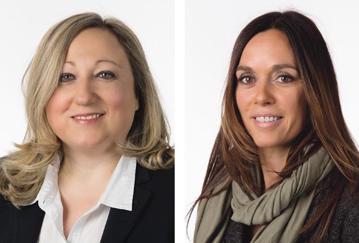 Catherine Santoru et Caroll Singarella sont respectivement responsable de la communication et directrice du Service des mesures pour l'emploi de l'OCE. (Photo: DR)