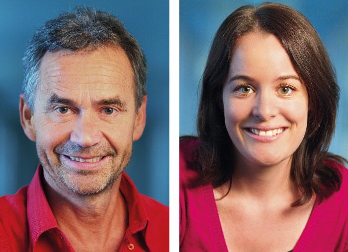 Anton Simonett et Anna Dudan font part de leurs expériences. (Photo: DR)