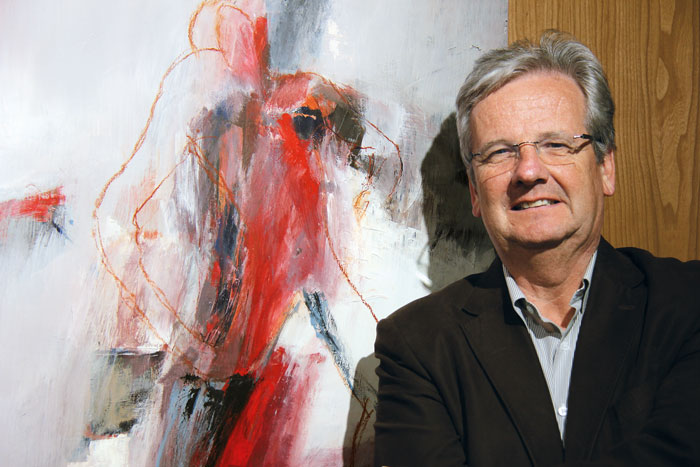 À la retraite, Marc Chassot consacrera plus de temps à son hobby, la peinture. (Photo: DR)