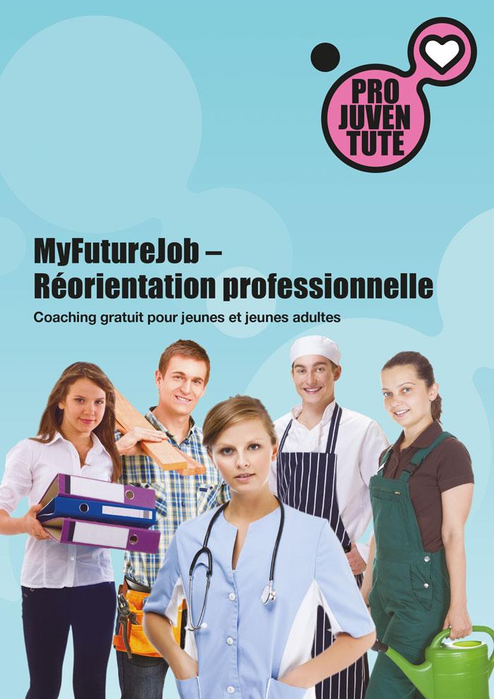 Flyer publicitaire de «MyFutureJob». (Image: DR)
