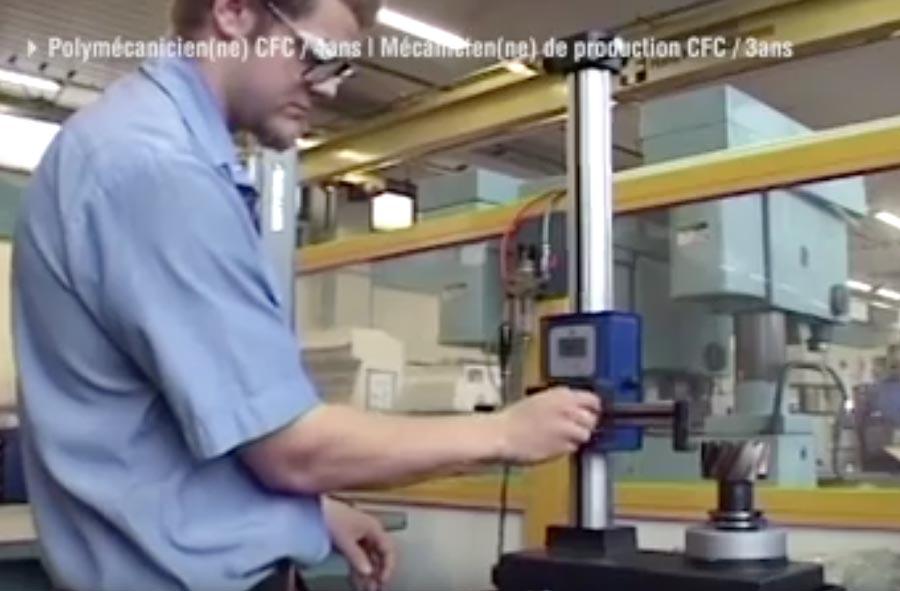 Mécanicien/ne de production CFC