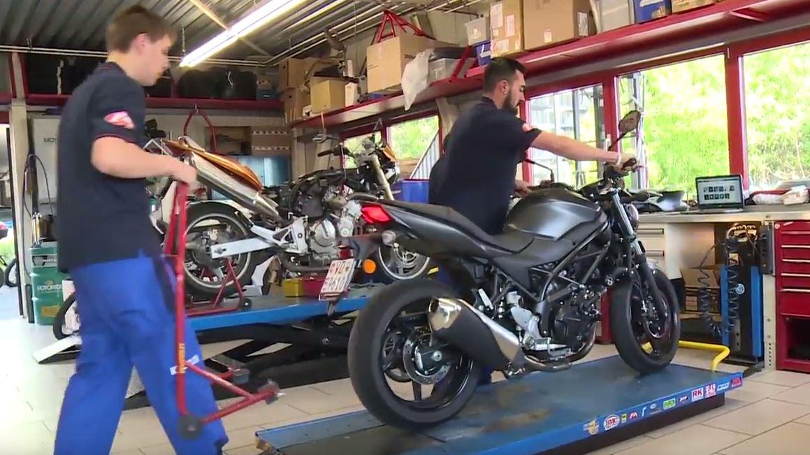 Mécanicien / Mécanicienne en motocycles CFC