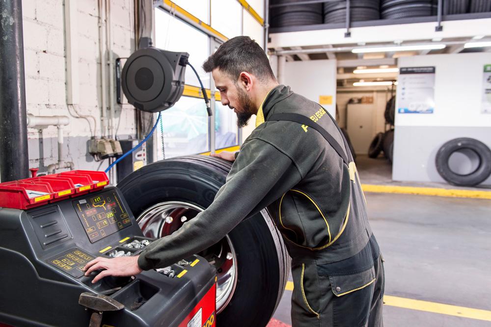 Équilibrer les pneus