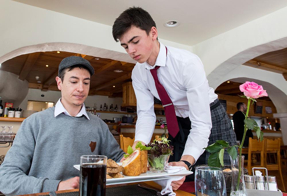 Service au restaurant ou au bar