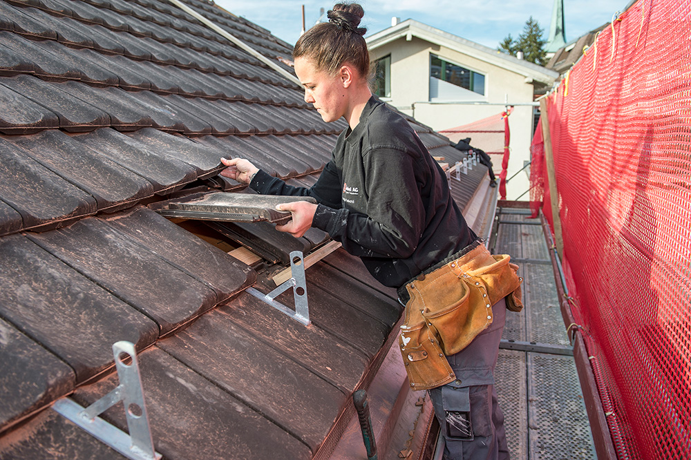 Couvrir le toit