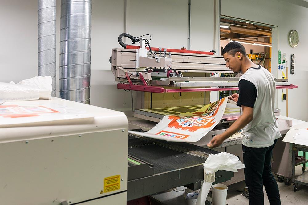 Imprimer sur différents matériaux